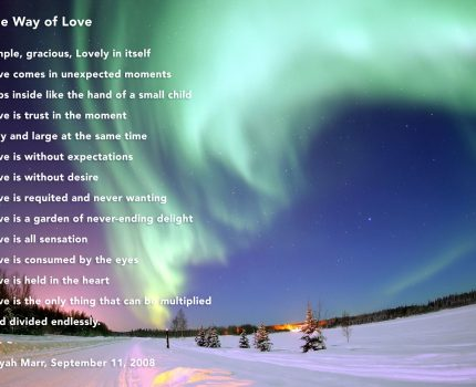 The Way of Love (a poem for September 11th)